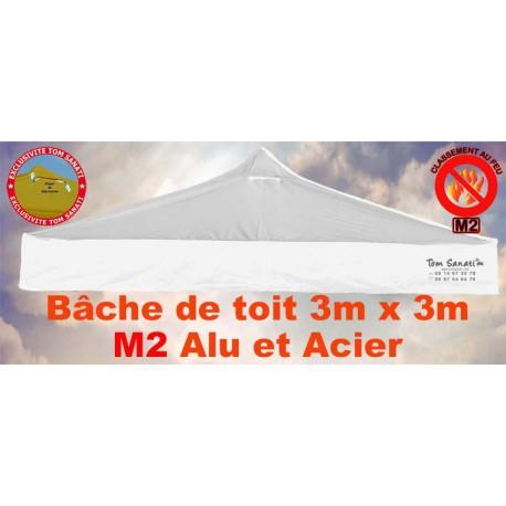 BACHE DE TOIT M2 Alu