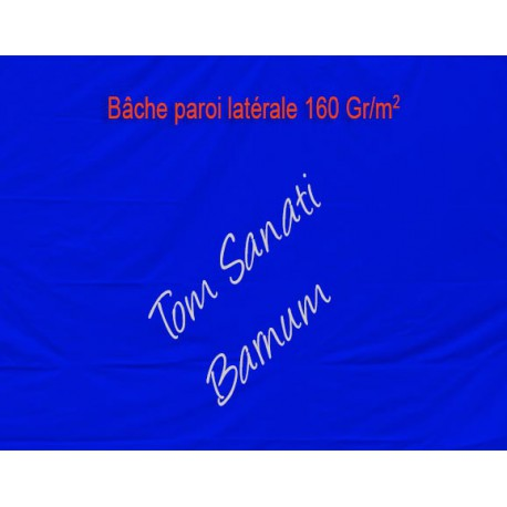 BACHE LATERALE LEGERE 160g/m2