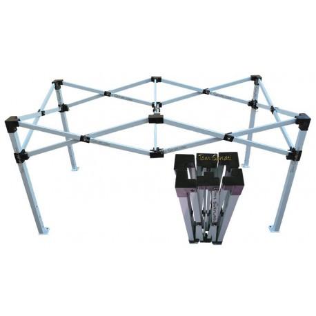 Table pliante acier